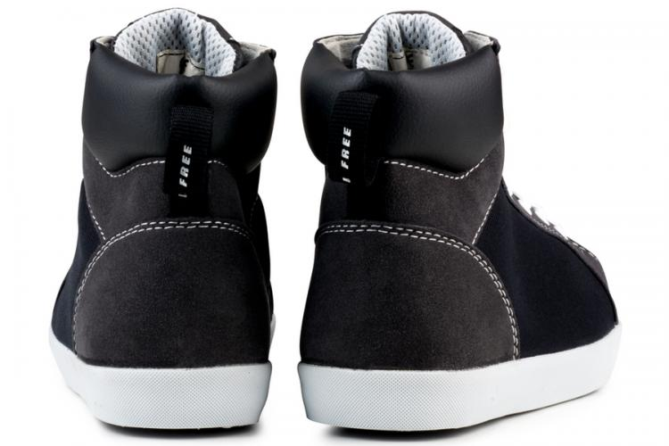 Eco Vegan Shoes High top sneaker safety
